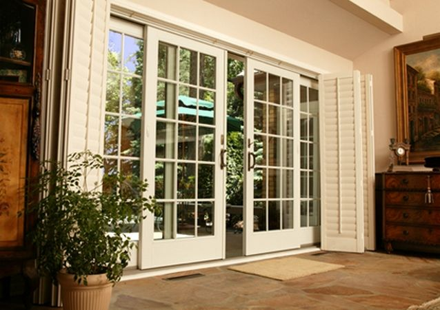 Double sliding patio doors Random