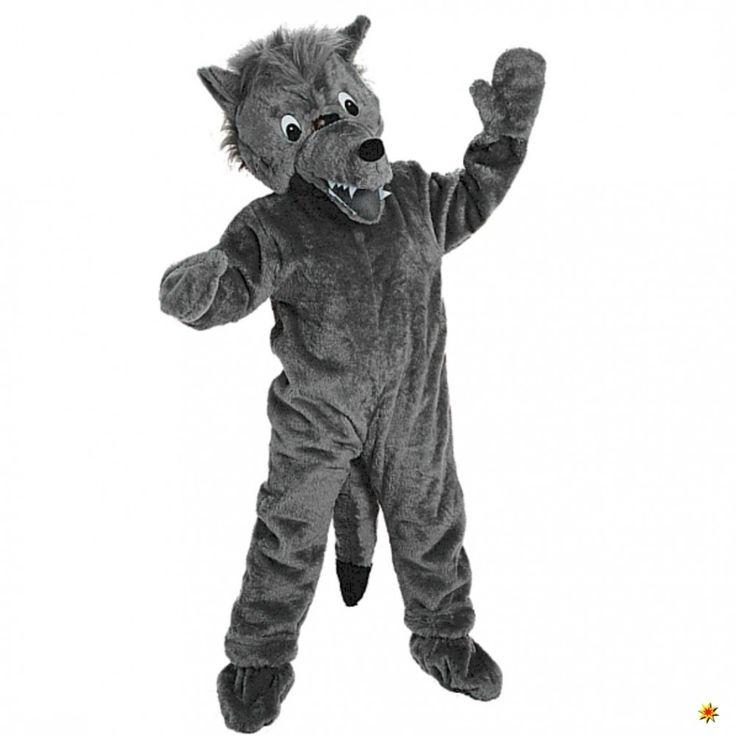 Promotion Kostüm grauer Wolf