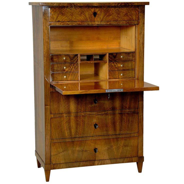 735 besten biedermeier bilder auf pinterest antike m bel restaurieren und antiker sekret r. Black Bedroom Furniture Sets. Home Design Ideas