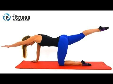 Stress Busting Yoga Pilates Workout - Relaxing Stretch Workout for Flexibility