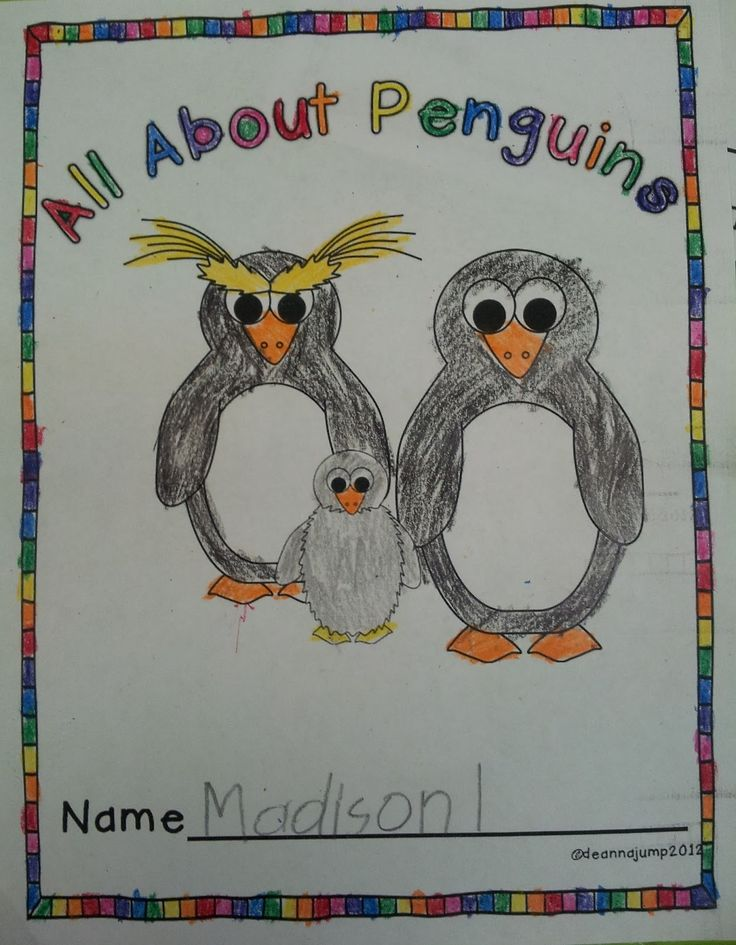 FREEBIE Download:  All about penguins.pdf  Penguin Update