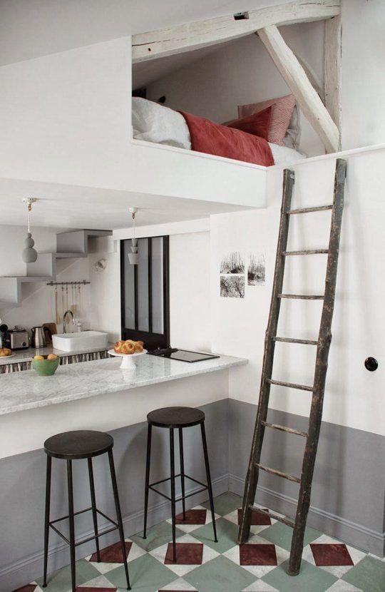 Liten i omfång men stor i stil – 25 stilrena kvm i Paris - Sköna hem