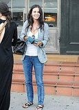 Courteney Cox Having Lunch at Tavern in Brentwood
