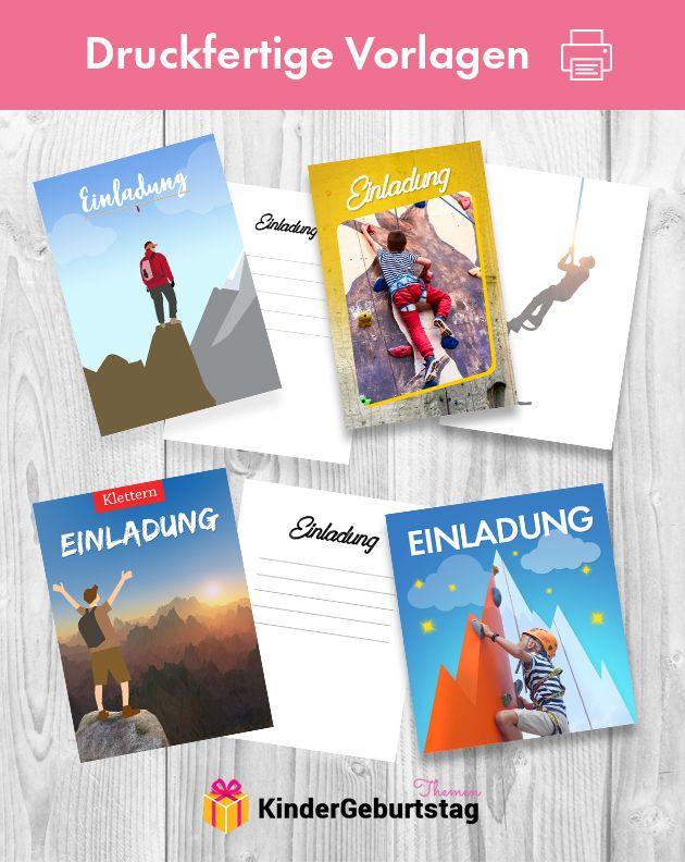 Einladung Klettern Vorlagen Kostenlos Ausdrucken Jpg Png Pdf Geburtstags Einladung Kinder Einladung Kindergeburtstag Einladungskarten Kindergeburtstag