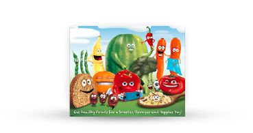 Nutrition Poster Healthy recipes for school lunches & school canteen