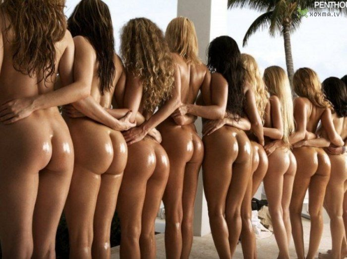 Group nudity ass women girls