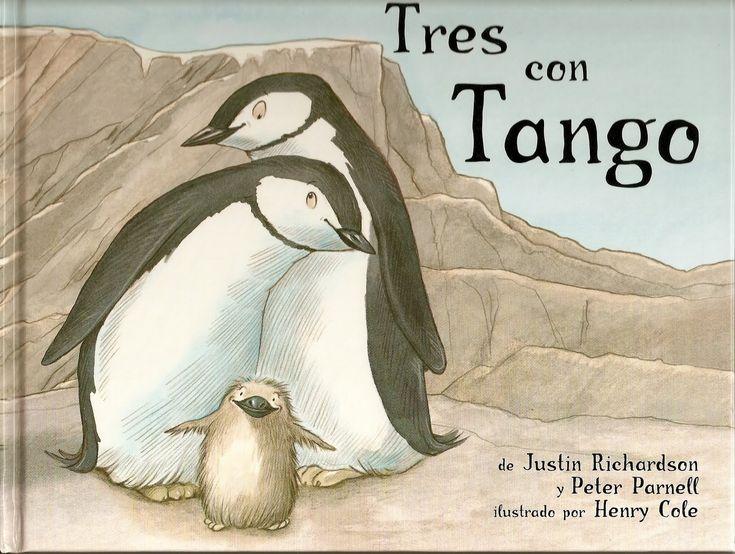 En el zoo hay muchos tipos de familias, pero ninguna como la de Tango. Este cuento se basa en la historia real de Roy y Silo, dos pingüinos barbijo del zoológico del Central Park, Nueva York