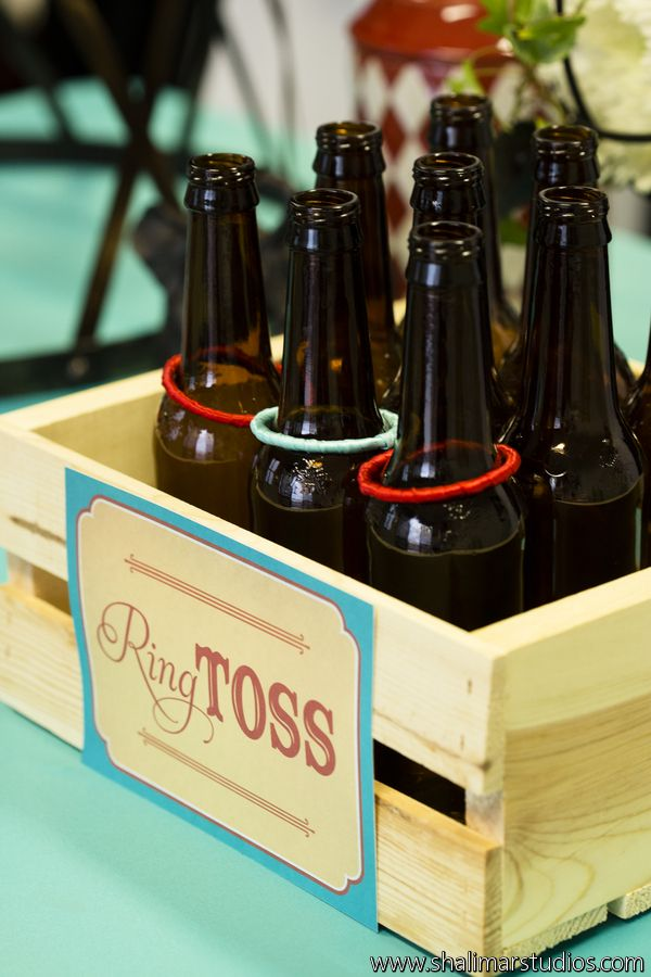 www.paperandhome.com Ring Toss Circus Wedding Sign. Photo by Shalimar Studios.