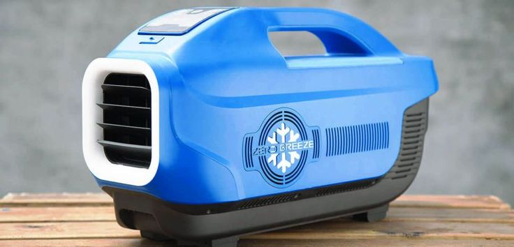 Zero Breeze, the latest in portable air conditioning, is sure to keep you cool…
