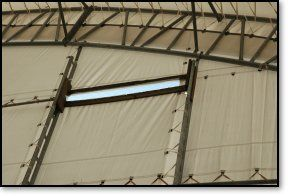 75' Wide Ultra Series straight wall/arch roof COMPETITION Indoor Riding Arena! CHOOSE from 80' to 240+' Lengths!