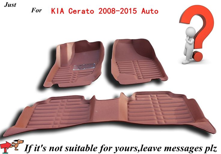 Car Carpet Anti Slip Floor Mats for KIA Cerato 2008 2015 Automobile Floor Mat Cover Black Grey Brown Beige Choices,High Quality mat abts,China carpet Suppliers, Cheap carpet door mat from AUTO PARTS HOME on Aliexpress.com