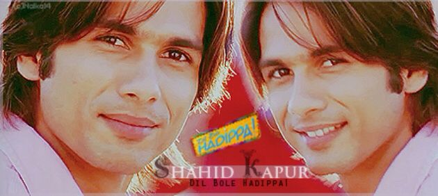 Shahid Kapoor Fra Hadippa