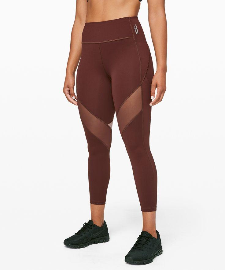 lululemon Women's Stronger As One Legging 25″ lululemon X Barry's, Midni…