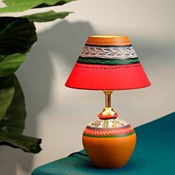 Aapno Rajasthan Handcrafted Terracotta Lamp