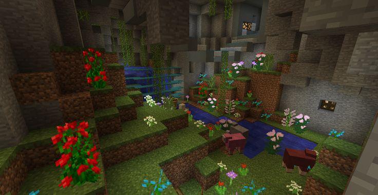 minecraft how to make a garden