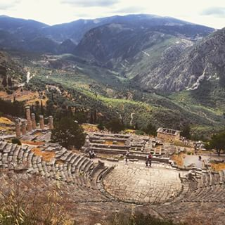 Temple of #Apollo, #Delfi #KeyTours  Photo credits: @paulonande