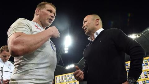 Eddie Jones: Dylan Hartley 'great candidate' as 2017 Lions captain