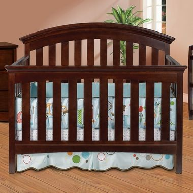 Delta Amber 4 In 1 Convertible Crib Chocolate Bed