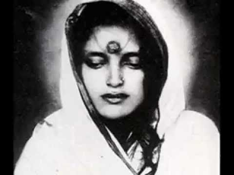 """Servant of Peace"". Music by Snatam Kaur with Manish Vyas. Photos of Anandamayi Ma."