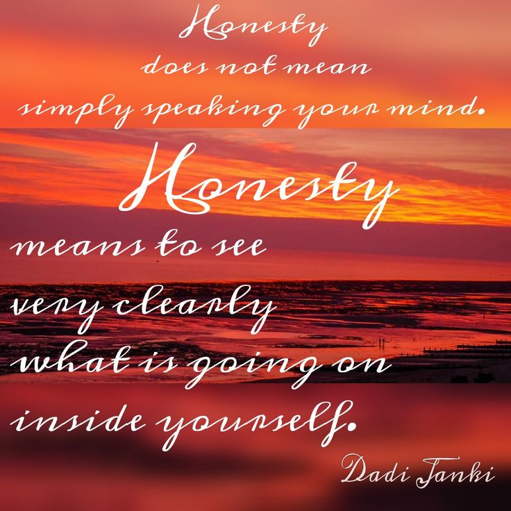 Brahma Kumaris Positive Thinking Quotes: Honesty Does Not Mean Simply Speaking Your Mind