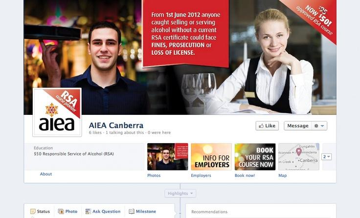 AIEA Facebook Page - Social Media
