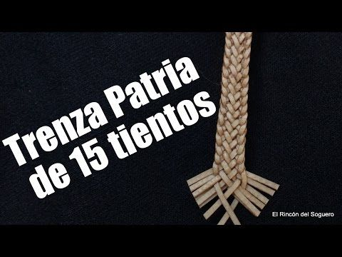 """Trenza Patria de 15 Tientos """"El Rincón del Soguero"""""""