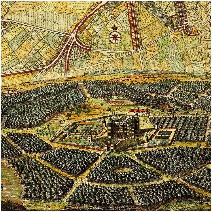 Mapa London%0A London  ca        Old City Plan  Hollar  De La Feuille