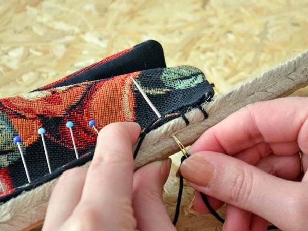 DIY tutorial: Make Your Own Espadrilles via DaWanda.com