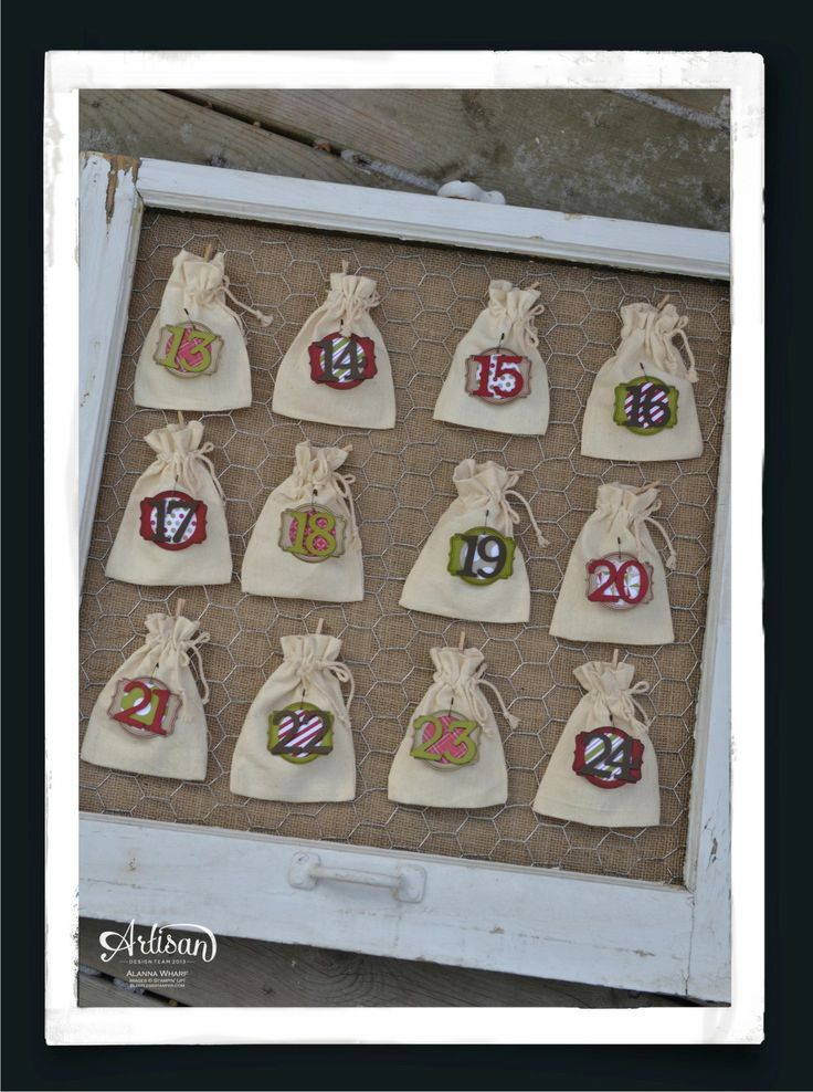 Stampin Up Calendar Ideas : Advent calendar and stampin up on pinterest