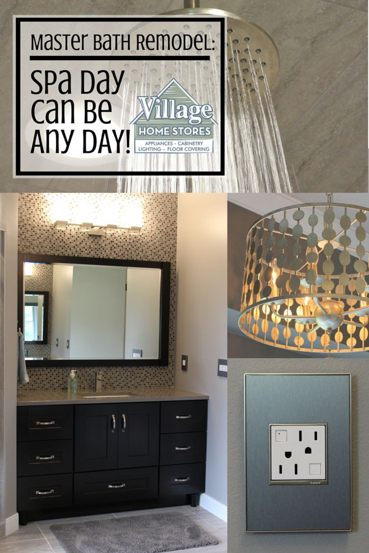 A Colona Il Master Bath Is Remodeled By Village Home Stores With Thier Complete Project Management Program Village Home Stores