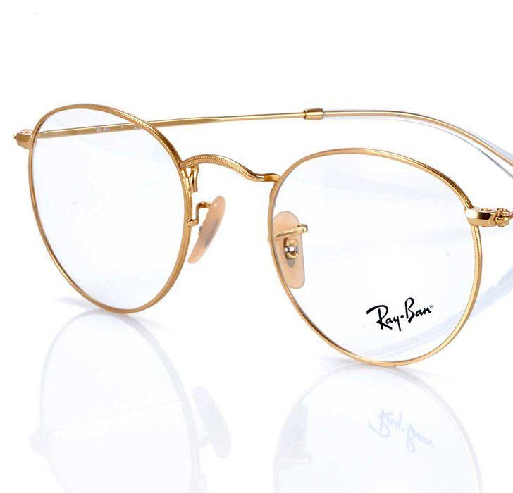 Bildergebnis Fur Brille Metall Gold Com Imagens Oculos De