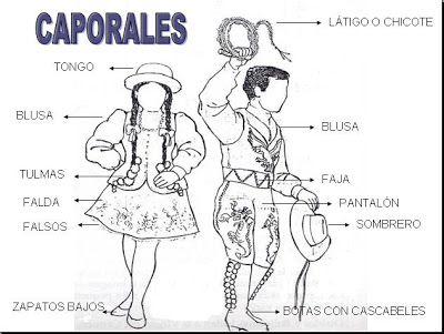 BAILES DE LA TIRANA: Vestuario Caporal