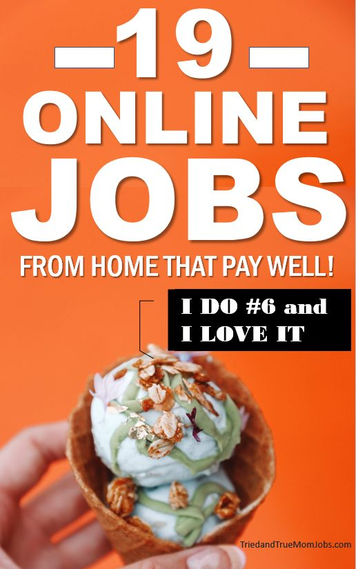 19 Best Online Jobs that Pay Well