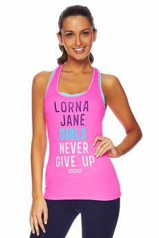 LJ Girls Never Give Up Tank