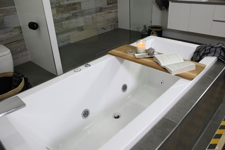 Ayden chose a luxurious Felino Drop in Spa Bath with Waterfall Bath Spout