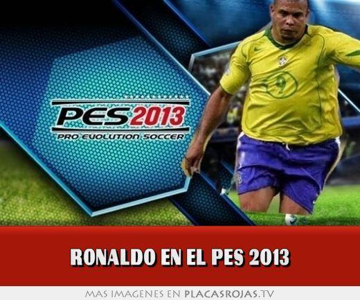 Ronaldo en el pes 2013