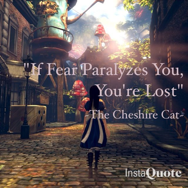 Words from the Cheshire Cat