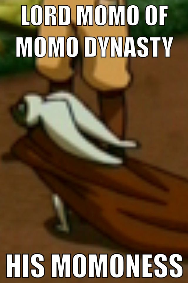 Omg i finally found a picture of this!!! me and my brother go around saying this all the time XD except for a while we said of the momo tribe instead of dynasty XD