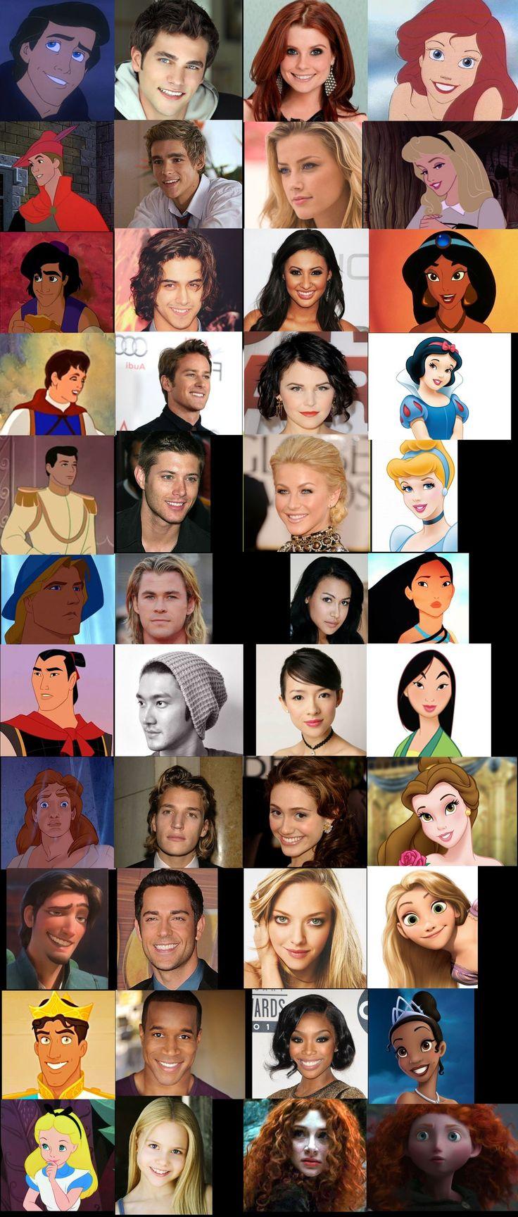 Pin by Rachael on Disney stuff | Real disney princesses ...