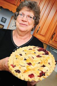 Boonsboro Woman Shares Some Secrets Of Her Prize Winning Pastry ~ But Judges At The Washington County Ag Expo & Fair Have Another Name For Rohrer's Pie, Champion.  Rohrer, Won Champion In The Pie Division And Took Home Grand Champion In Overall Baked Goods And Candy Category During The Ag Expo Last Month.