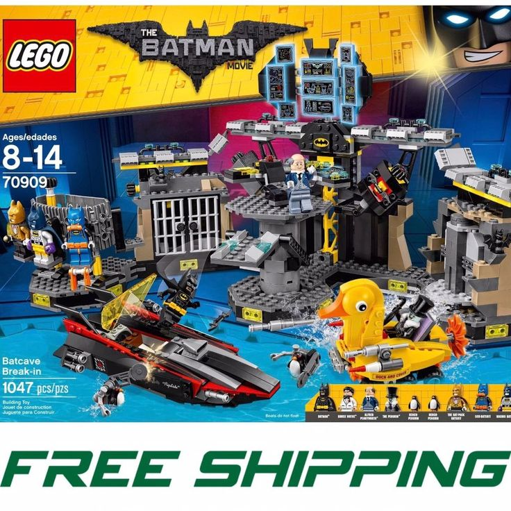 LEGO BATMAN MOVIE Batcave Breakin 70909 Building Kit