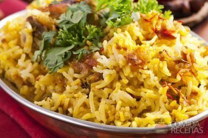 Receita de Arroz com frango e açafrão em receitas de arroz, veja essa e outras…