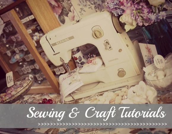 sewing & craft tutorials