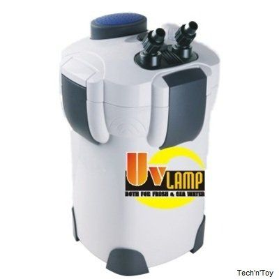 SunSun HW-304B 5-Stage External Canister Filter with build in 9-watt UV Sterilizer, Good for up to 150 gallon fish tanks