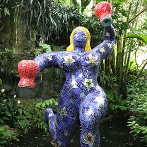 "Niki de Saint Phalle ""The Star"""