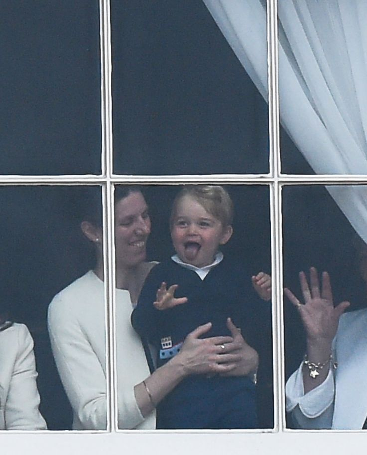Prince George's Sweet Grin Might Just Be Better Than His Unimpressed Faces