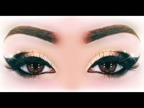 Sexy Black & Gold Makeup Tutorial Inspired by Ely Marino