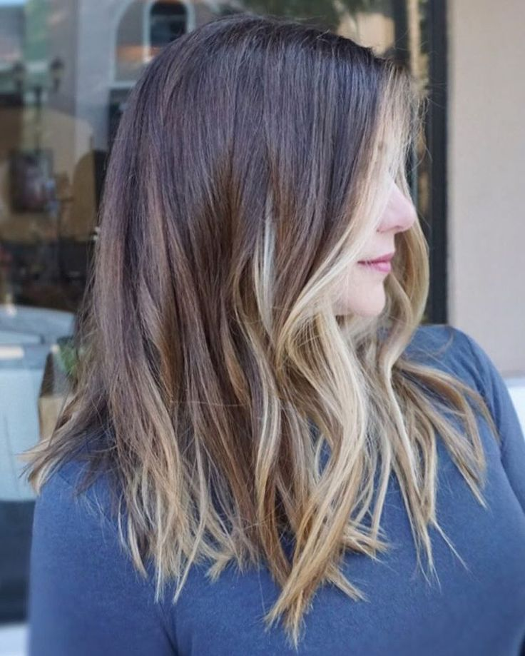 "83 Likes, 4 Comments - Orlando Balayage & Extension (@kimjettehair) on Instagram: ""Rich brunette with sunkiss #balayage ✨  #balayagehighlights #hairbykimjette #pretty #hair…"""