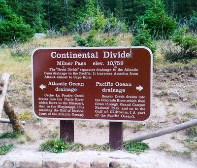 continental divide | Continental Divide — CDOT