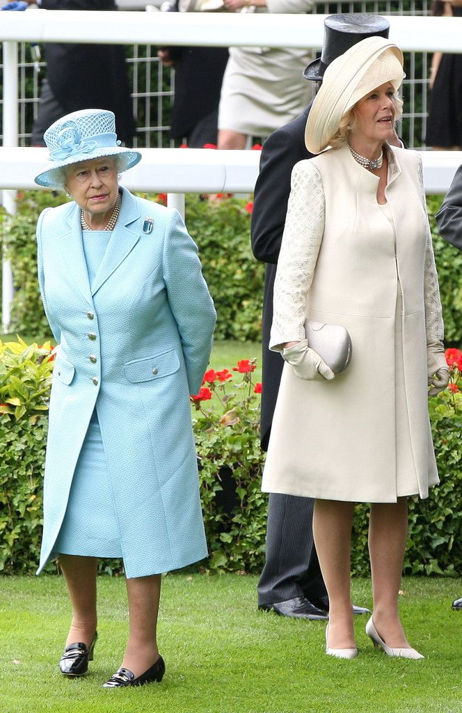 Queen Elizabeth II and Camilla Parker Bowles Photo - Royal Ascot 2012 - Day 1